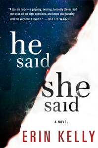 Book - He Said She Said