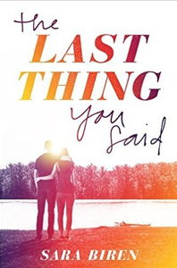 Book - The Last Thing You Said